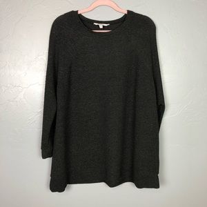 BB Dakota black sparkle oversized sweater size S